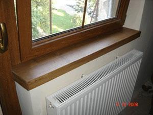 Sposoby montażu parapetów okiennych