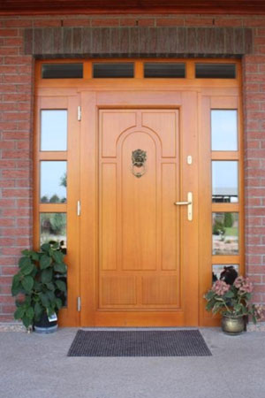 Drzwi z oknami