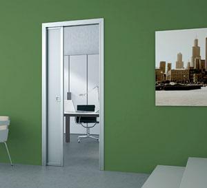 Drzwi przesuwne chowane w ścianie
