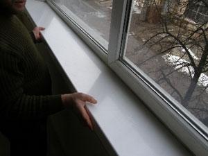 Nowe okno – stary parapet wewnętrzny